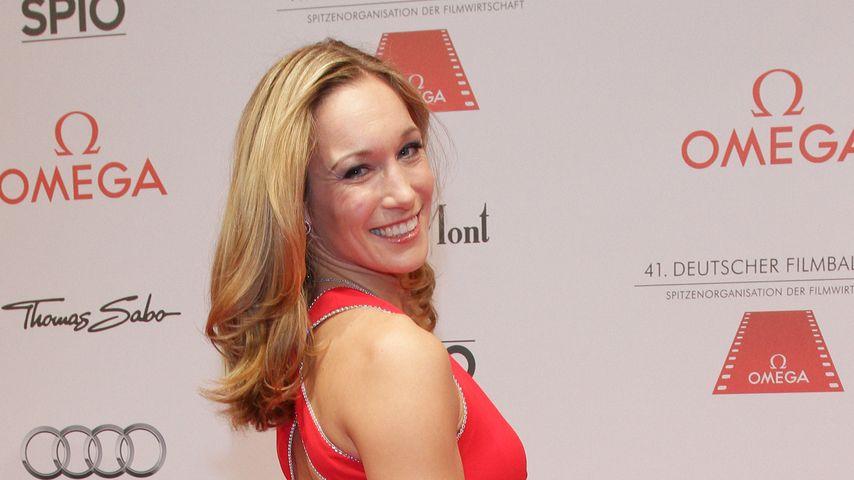 Christine Theiss beim Deutschen Filmball 2014