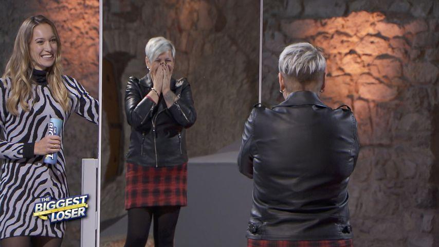 """Christine Theiss und Sonja bei """"The Biggest Loser"""""""