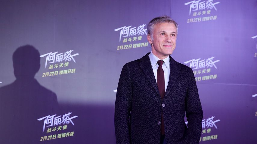 Christoph Waltz in Peking, Februar 2019