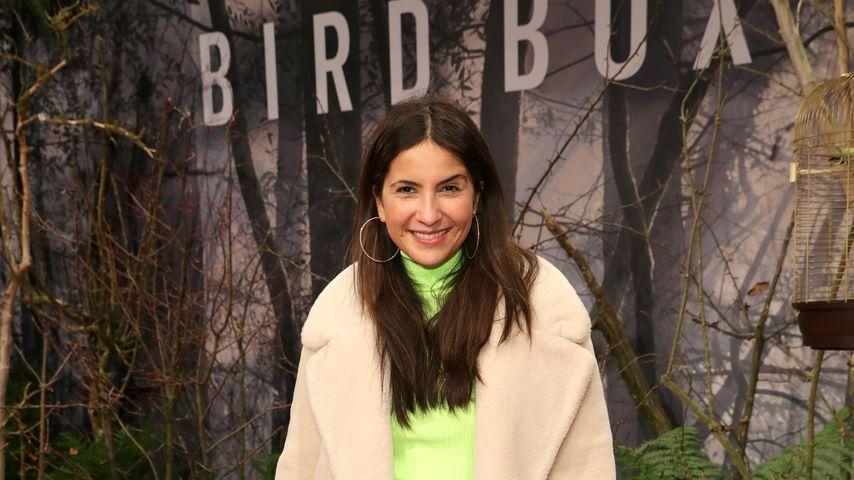 """Chryssanthi Kavazi bei der """"Bird Box""""-Premiere in Berlin"""