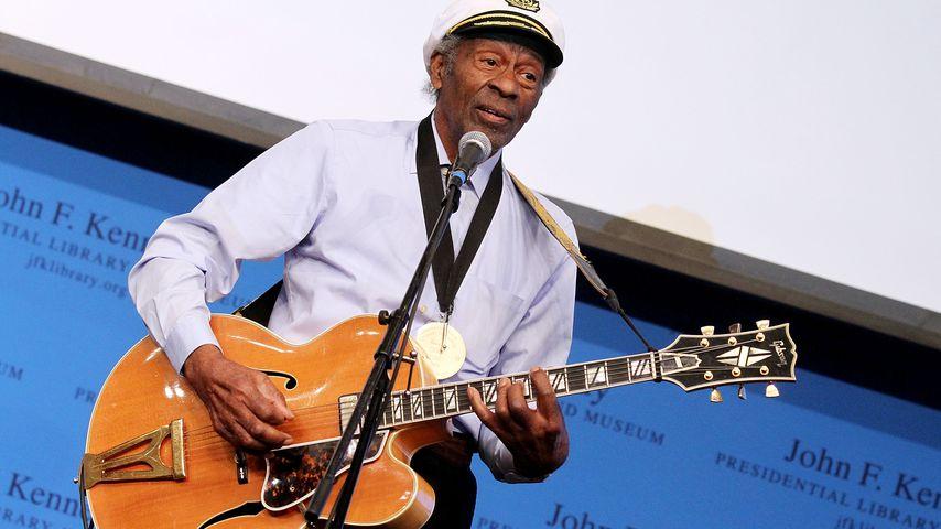 Chuck Berry (†90): Gibt es noch ein Musikalbum der Legende?