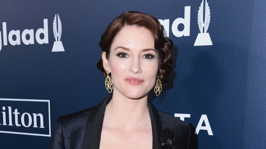 Chyler Leigh im April 2017 in Beverly Hills