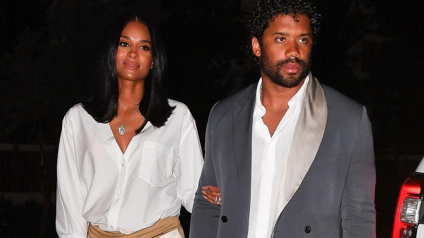 Ciara und Russell Wilson, Januar 2020