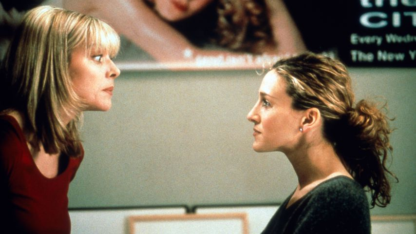 "Kim Cattrall und Sarah Jessica Parker in ""Sex and the City"""