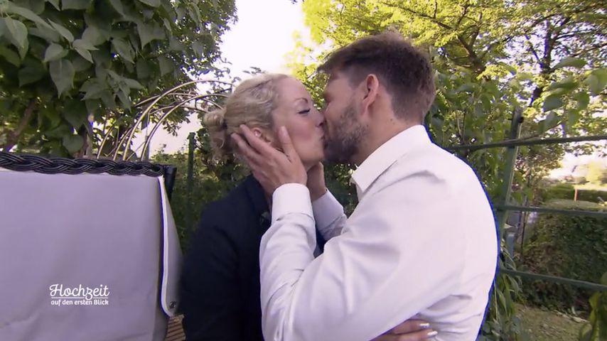 """Cindy und Alexander in der zweiten Folge von """"Hochzeit auf den ersten Blick"""""""