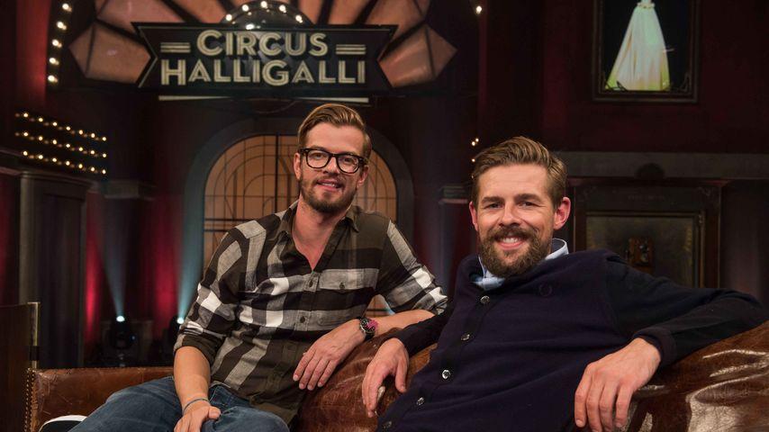 """Joko Winterscheidt und Klaas Heufer-Umlauf bei """"Circus HalliGalli"""""""
