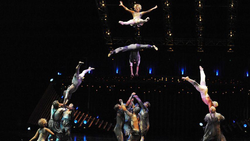 Akrobat des Cirque du Soleil stürzt ab und stirbt