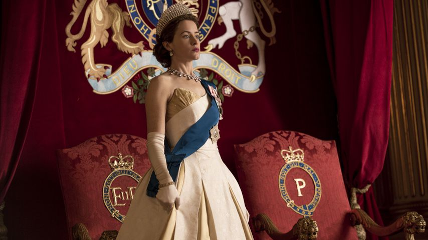 "Claire Foy als die Queen in ""The Crown"""
