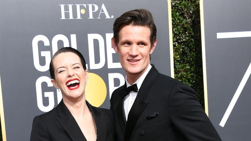 Schauspieler Claire Foy und Matt Smith