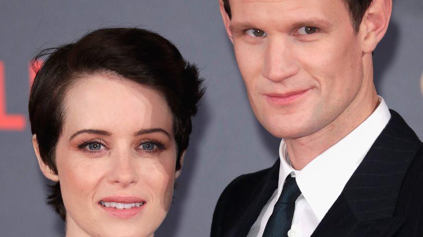 Claire Foy und Matt Smith