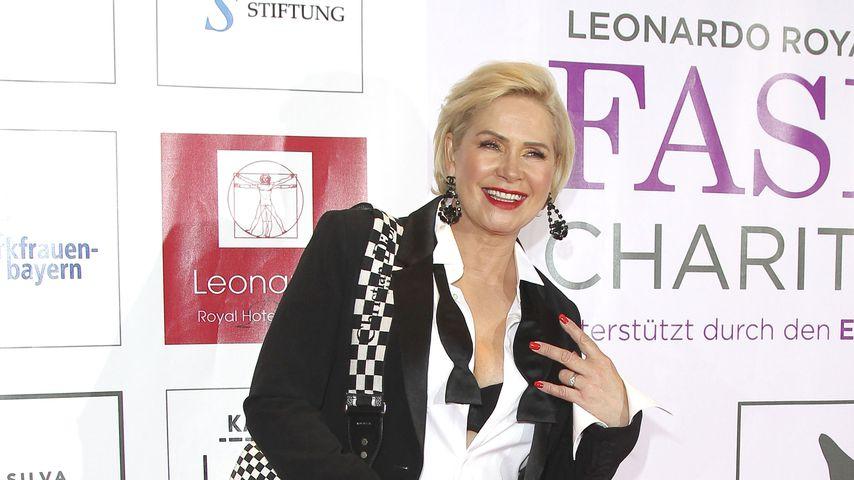 Claudia Effenberg im April 2019 in München