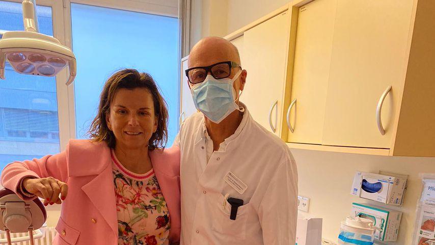 Facelift und Lidstraffung: Claudia Obert war beim Beauty-Doc