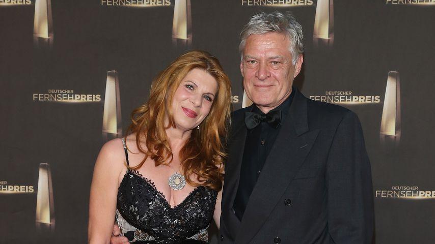 Claudia Wenzel und Rüdiger Joswig beim Deutschen Fernsehpreis 2012