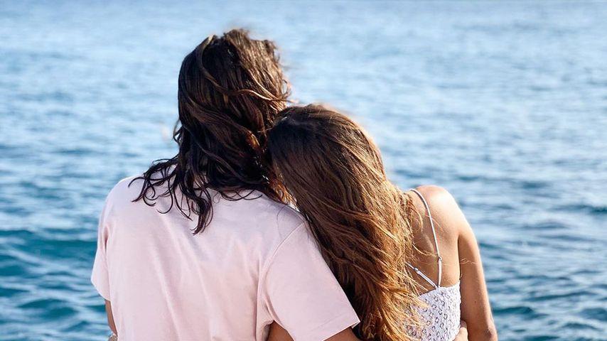 Riccardo Basile und Clea-Lacy Juhn, Juli 2020