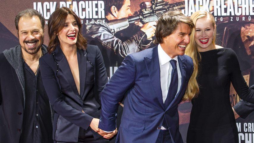 Angst? So verlief Cobie Smulders 1. Treffen mit Tom Cruise