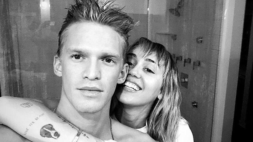 Cody Simpson und Miley Cyrus im Oktober 2019