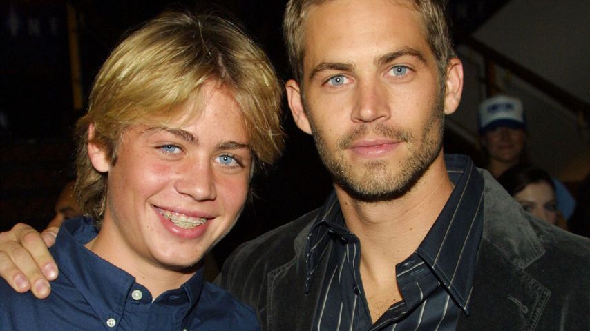 Cody und Paul Walker 2003