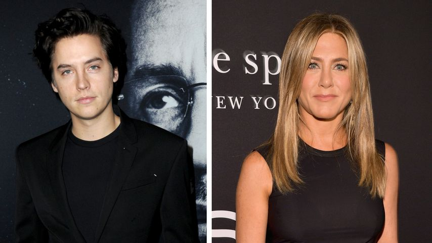 "Bei ""Friends""-Dreh: Cole Sprouse stand auf Jennifer Aniston"