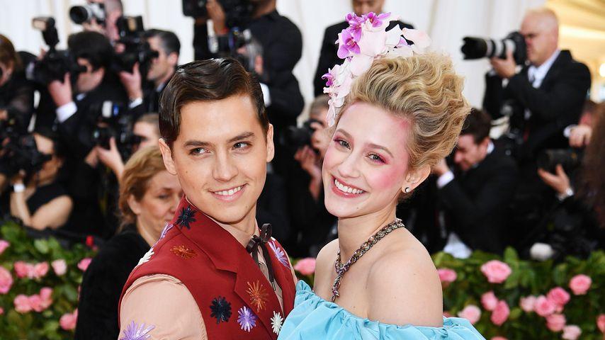 Cole Sprouse und Lili Leinhart bei der Met Gala 2019