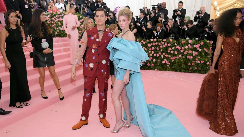 Cole Sprouse und Lili Reinhart im Mai 2019 in New York