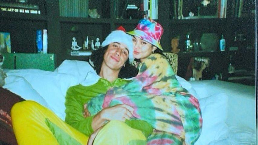 Cole Tucker und seine Freundin Vanessa Hudgens