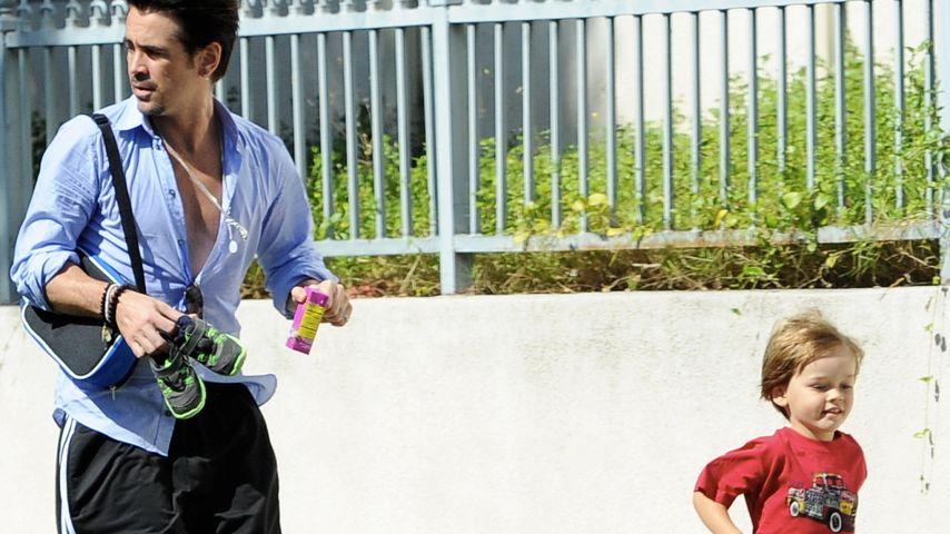 Colin Farrell mit seinem Sohn