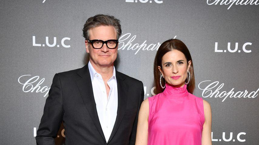 Deshalb haben sich Colin Firth und seine Frau Livia getrennt