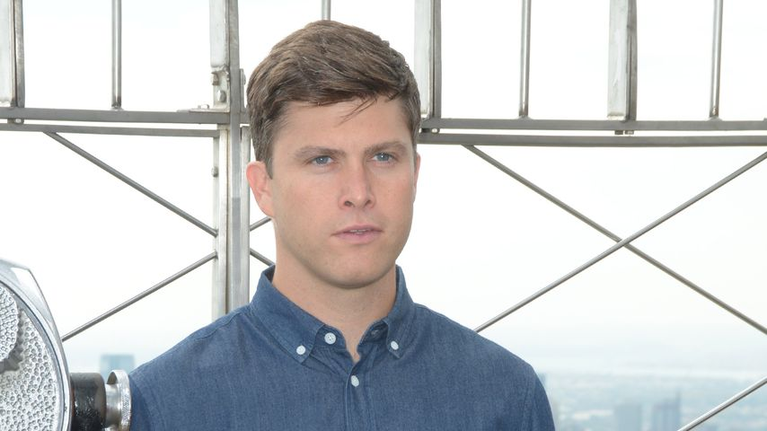 Colin Jost auf dem Empire State Building