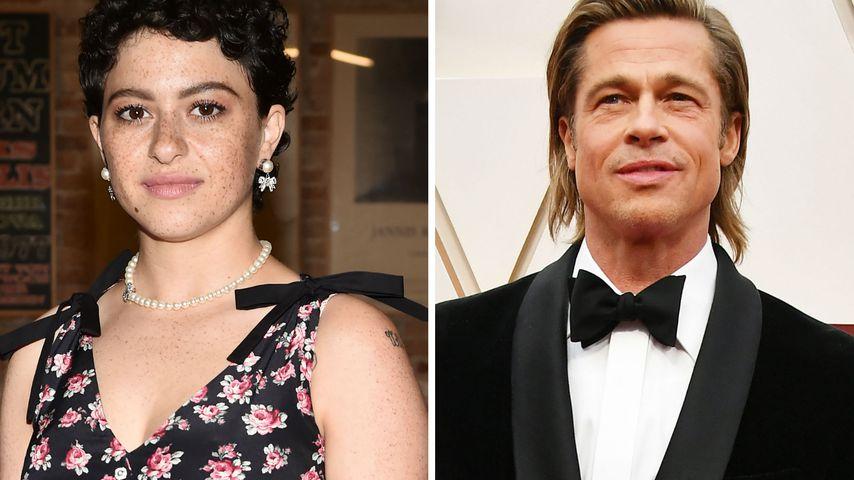 """""""Nur Freunde"""": US-Stars Alia und Brad Pitt daten doch nicht"""