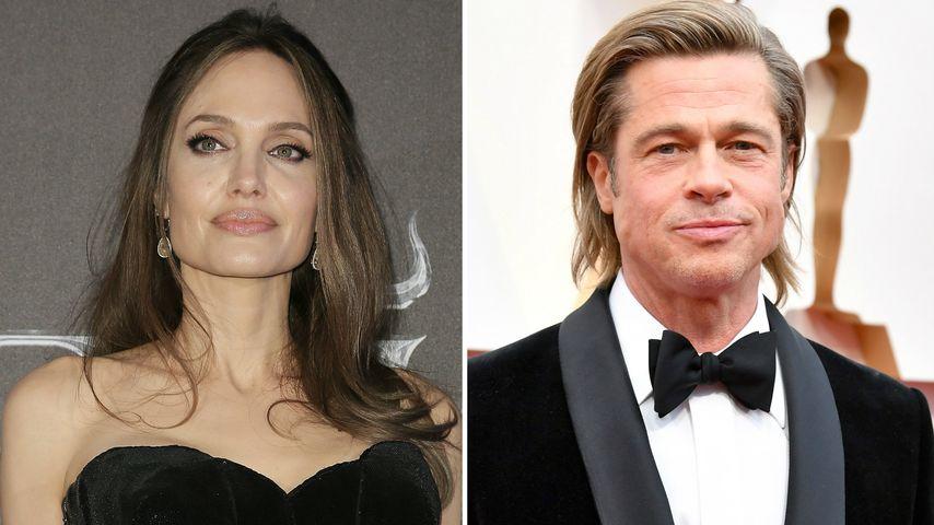 Versucht Angelina Jolie, die Scheidung von Brad aufzuhalten?