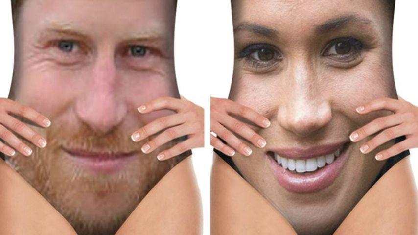 Skurril! Prinz Harry und seine Meghan gibt's als Badeanzug