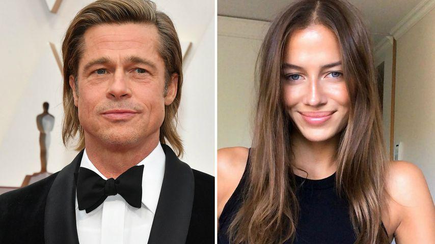 Angeblich Brad Pitts Neue: Wer ist Nicole Poturalski?