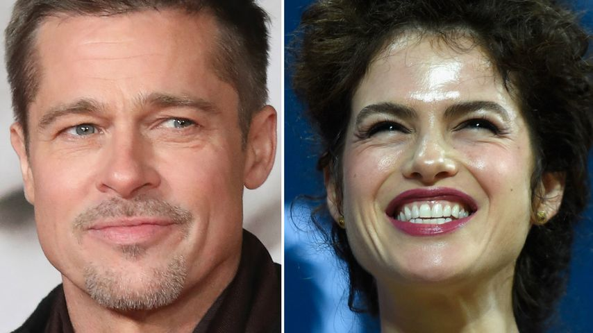 Liebes-Urlaub: Brad Pitt & Neri flüchten vor Medien-Trubel!
