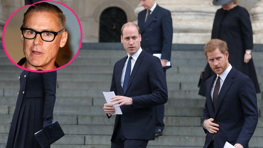 Affäre mit Diana? William & Harry sauer auf Bryan Adams
