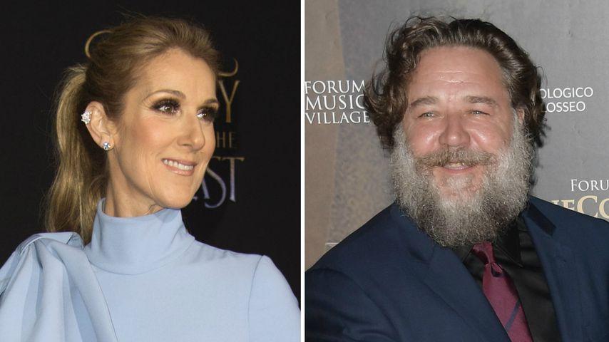 Céline Dion & Russell Crowe: Sind sie echt ein Liebespaar?