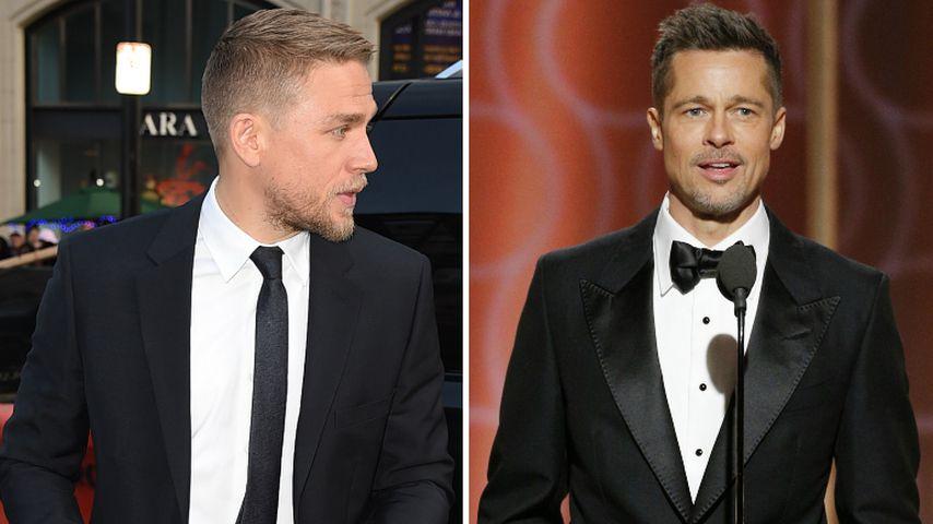 Hollywood-Beef? Darum ist Charlie Hunnam sauer auf Brad Pitt