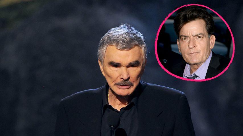 "Burt Reynolds: ""Charlie Sheen hat HIV verdient!"""