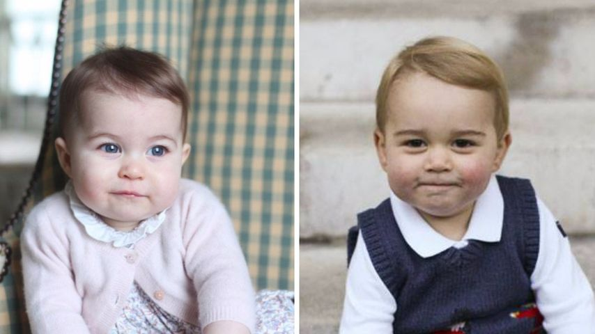 Wer ist süßer: Prinzessin Charlotte vs. Bruder Prinz George?