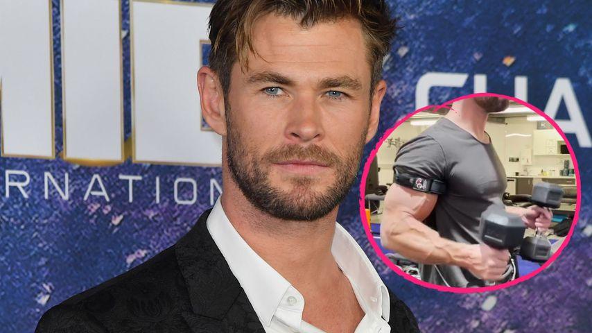 Gelüftet: So trainiert Chris Hemsworth seinen Megabizeps
