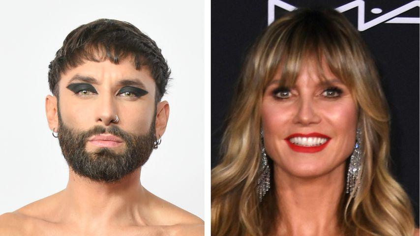 """Das sagt Conchita zu """"Queen of Drags""""-Kritik gegen Heidi"""