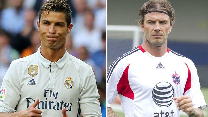 Cristiano Ronaldo und David Beckham