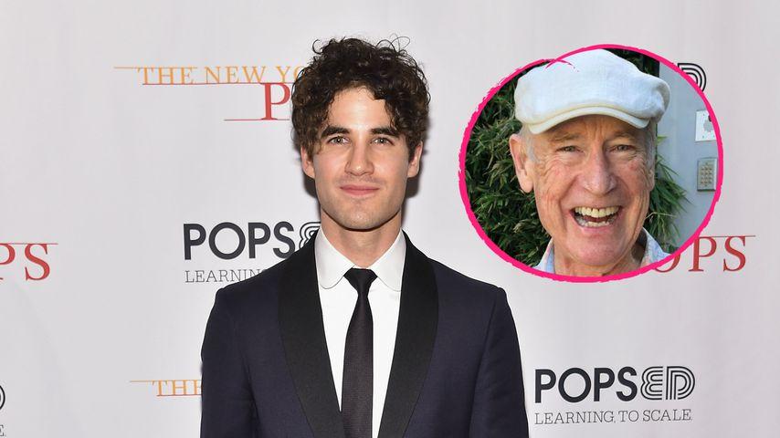 """""""Glee""""-Star Darren Criss trauert um seinen verstorbenen Papa"""