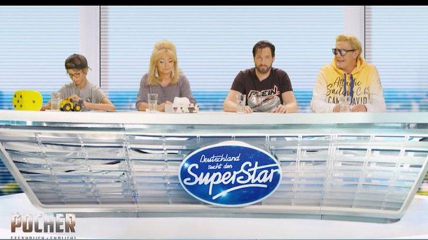 """""""DSDS""""-Parodie von Oliver Pocher und Matze Knop im direkten Vergleich mit der echten Jury"""