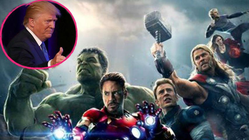 "US-Wahl: Die ""Avengers"" bekämpfen Kandidat Donald Trump"