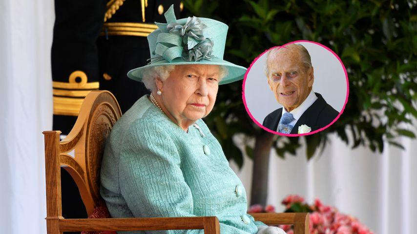 Wo war Prinz Philip? Queen allein bei Trooping the Colour!
