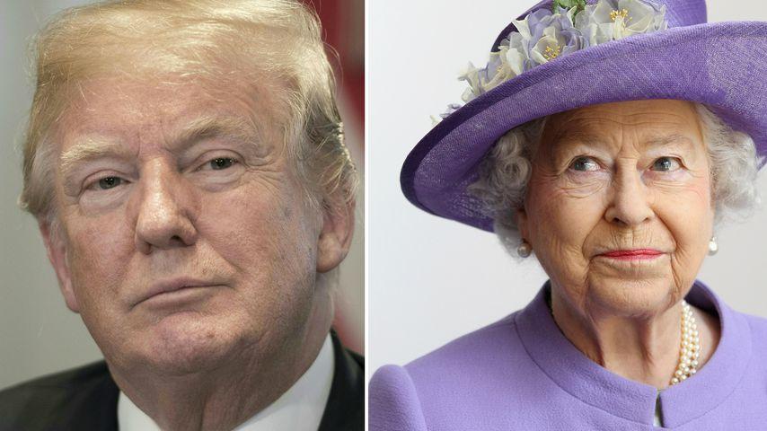Besuch bei der Queen: Trump vermeidet London wegen Proteste