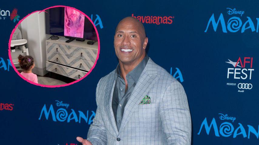 Wie süß! Jason Momoa gratuliert The Rocks Tochter mit Video