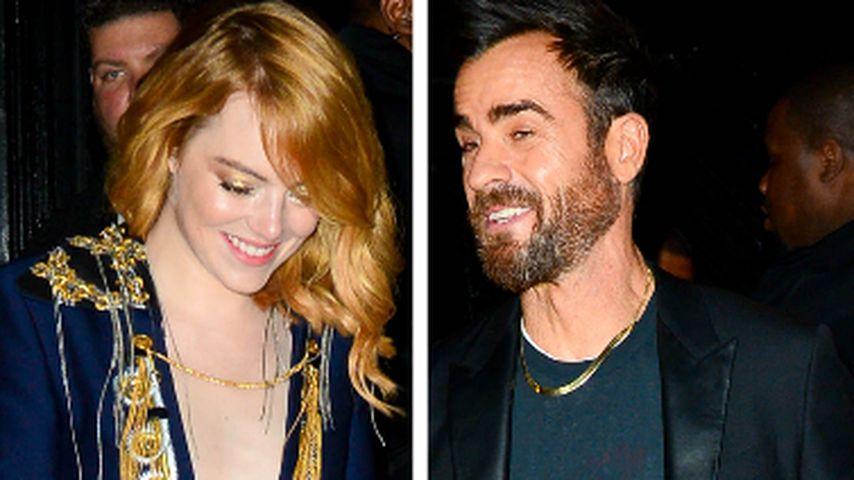 Gesichtet: Was läuft bei Emma Stone und Justin Theroux?