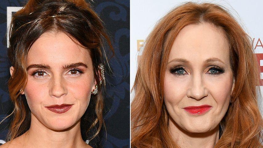 Emma Watson äußert sich zu Rowlings Trans-Kommentar!