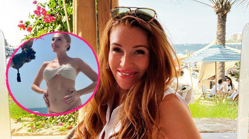 Nach Babygerüchten: Georgina Fleur posiert im knappen Bikini